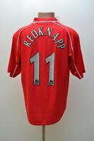 LIVERPOOL ENGLAND 2000/2001/2002 HOME FOOTBALL SHIRT REEBOK REDKNAPP #11 SIZE M