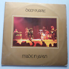Deep Purple - Made in Japan Vinyl 2x LP French 1974 Press EX+