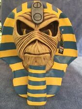 Halloween IRON MAIDEN EDDIE POWERSLAVE COVER Latex Deluxe Mask Haunted House