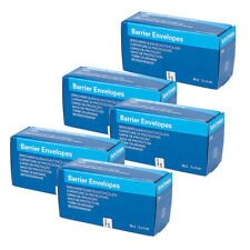 UK 5x Dental Digital X-Ray ScanX Barrier Envelopes Size 2 For Phosphor Plate