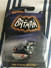 Hot Wheels 1966 Batman TV Series Batcycle (Mattel, 2007)