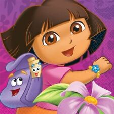 DORA THE EXPLORER Flower Adventure LUNCH NAPKINS (16)  Birthday Party Supplies