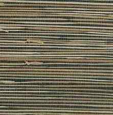 Grasscloth Black Beige Natural Wallpaper York NZ0786 FREE SHIPPING