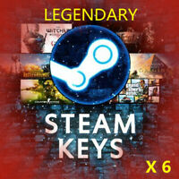 6 LEGENDARY VIP Random Steam Key REGION FREE Worth 100+$ [GUARANTEE]