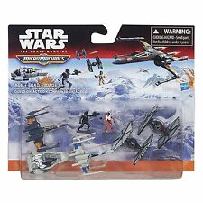 STAR WARS THE FORCE AWAKENS MICRO MACHINES DELUXE PACK GALACTIC SHOWDOWN