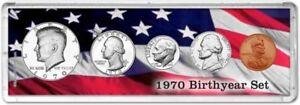 Birth Year Coin Gift Set, 1970