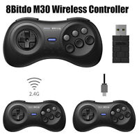 8Bitdo M30 2.4G Game Wireless Controller for Sega Genesis Mini & Mega Drive Mini