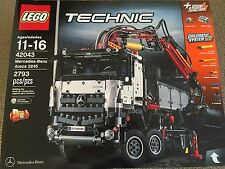 Lego 42043 Technic Mercedes-Benz Arocs 3245 Truck Brand New Sealed Rare 2 in 1