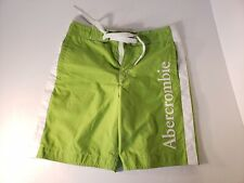 Abercrombie Fitch Swim Trunks Lime Green Small EUC