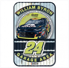 "William Byron Axalta #24 2018 NASCAR Plastic Sign 11"" X 17"""