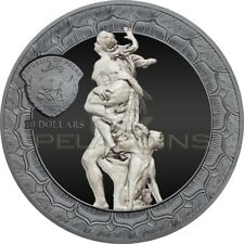 Palau 2018 10$ Rape of Proserpina - Eternal Sculptures 2oz Silver Coin