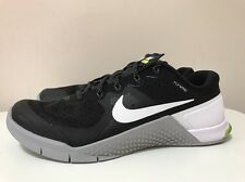 Nike Metcon 2 Mens Crossfit Trainers Shoes UK 7.5 EUR 42 Black Grey 819899 001