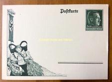 EBS Germany 1938 Postal Card 6+19 Pf Harvest Festival Erntedankfest P273