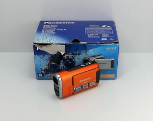 PANASONIC SDR-SW21 CAMCORDER BOXED SD / SDHC CARD WATER / SHOCK / DUST PROOF