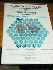 The Walter T. Kelley Co. 1989 Bee Supply Catalog Super Market, Clarkson Kentucky