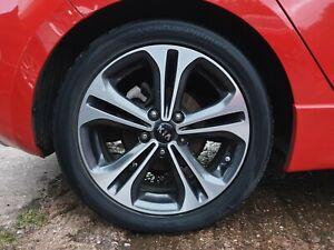 "Kia Ceed GT Line 2012 - 2018 17"" Alloy Wheel & Tyre Full Set 225 45 R17"