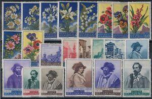 SAN MARINO 1957 Annata completa 22v MNH**