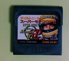 Super Monaco GP 2 Game Gear SEGA GameGear GG JAPAN USED