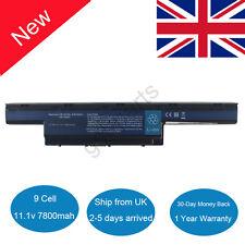 9 Cell Laptop Battery for Acer Aspire 4741 4741g 5741 5551 5552 5742z 5750 UK