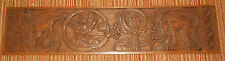 Mid Century Garden of Eden Carved Wall Panel by Evelyn Ackerman ERA Industries