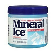 Mineral Ice Therapeutic Pain Relieving Gel, 16-Ounce Jars