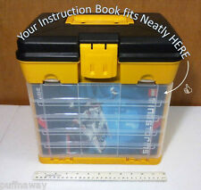 Custom ORGANIZER / STORAGE Drawer / Bin SYSTEM for Lego Mindstorms EV3 - 31313 !