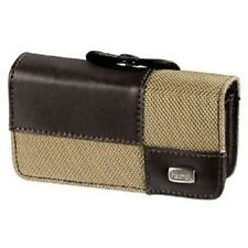 Hama 87744 Mobile Phone Holster - Brown Real Leather Double Face