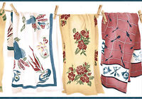 COLORFUL TOWELS LAUNDRY HANGING ON CLOTHESLINE BLUE EDGE  Wallpaper bordeR Wall