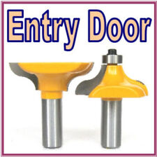 "2 PC 1/2"" Shank Entry Door for Long Tenons Router Bit sct-888"
