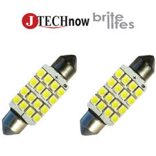 "Jtech 2x 42mm(1.72"") 16 SMD Super Bright  LED Bulb 211, 212, 211-2, 212-2, 578"