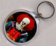 It Clown Pennywise Round Keyring - Creepy Classic