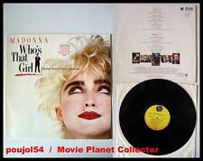 WHO'S THAT GIRL - Madonna (Vinyle 33t-Vinyl LP) 1987