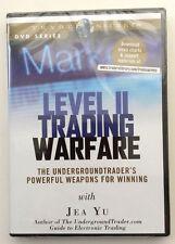 LEVEL II TRADING WARFARE by Jea Yu * New Sealed Stock TRading DVD