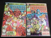 Dazzler #4 #5 both in Very Fine +  condition. Marvel comics [*s8]