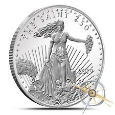 Zombucks The Saint 1 oz .999 Silver BU Round USA Made ZOMBIE Bullion Coin