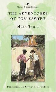 THE ADVENTURES OF TOM SAWYER (Barnes & Noble Classics) by MARK TWAIN NEW