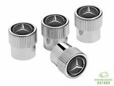 4 Tappi Valvole Pneumatici Logo Stemma Per Mercedes Classe A B C E G ML SLK AMG