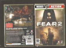 Rare !!! F.E.A.R.2 Project Origin : Un Jeu d'Action Colossal : XBOX 360 NEUF