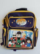 Vintage Anime Dragon Ball Z Backpack Bird Studio Shueisha Toei 1989