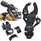 Great Bicycle Cycling LED Flashlight Torch Mount Clamp Clip Holder Grip Bracket