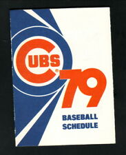 Chicago Cubs--1979 Pocket Schedule--Old Style Beer