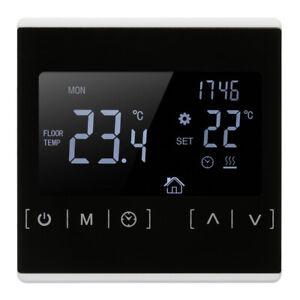 LCD Digital Thermostat Raumthermostat FußBodenheizung Wandheizung Touchscreen