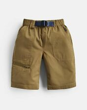 Joules Boys Sam Woven Shorts And Belt  - OLIVE