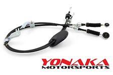 Yonaka 02-06 Acura RSX Shifter Cables Base Type-S K20Z1 K20 K24 OEM-Spec K-Swap