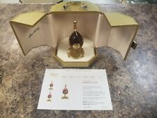 Theo Faberge 1975 Sunburst Egg Number 129/250 - With Original Case