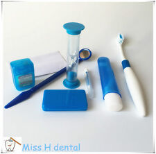 10 Sets Orthodontic Dental Brush Ties Toothbrush brush Floss Oral Kit