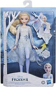 Disney Frozen 2 Magical Discovery Elsa Doll Light Sounds Girls Gift Toy Fun Kids