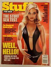 Stuff Magazine #15 February 2001 Amanda Detmer Gena Lee Nolin Sheena Stalker