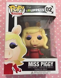 Collectable POP MISS PIGGY The Muppets 02 Funko Vaulted
