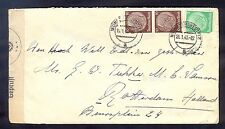 Germany(Holland), 1940, Cover from Muster to Rotterdam with sensorship label